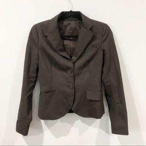 Theory wool blend brown blazer